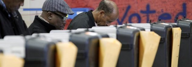 Overall voter turnout lower than 2008