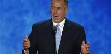 Boehner declares Obamacare 'the law of the land'