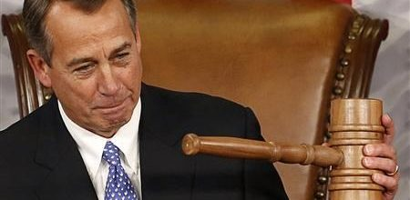 Embattled Boehner holds on to Speaker's post
