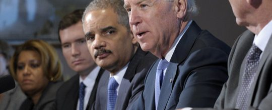 Biden meets today with pro-gun groups, including bombastic NRA