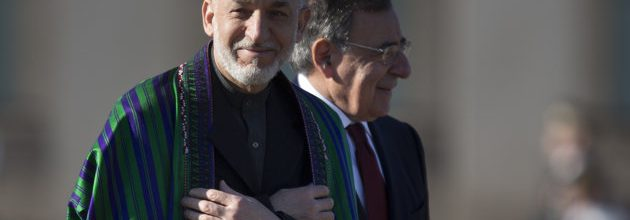 Obama meeting with Karzai to discuss end of U.S. role in Afghanistan
