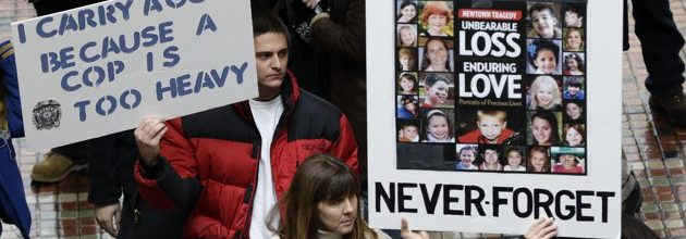 Newtown residents marching for gun control in Washington