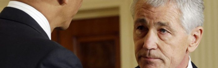 Claims don't match facts in Chuck Hagel debate