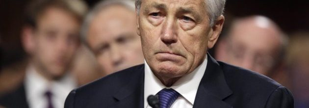Hagel battered by fellow Republicans but supported by Democrats