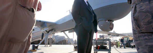 Former defense secretary backs oversight of drone strikes