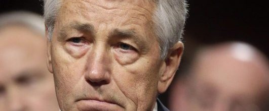 In divided vote, Senate panel approves Hagel for Defense Secretary