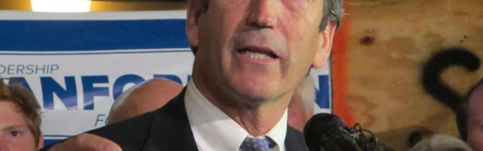 Mark Sanford's comeback: 'The God of second chances'