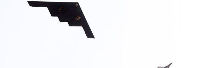 Stealth bombers sent to South Korea