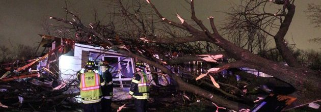 Tornadoes, snow, storms strike Midwest