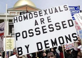 Republicans reaffirm homophobic stand on gay marriage, honor perennial loser Ron Paul
