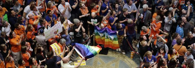 Gay marriage set to become legal in Minnesota