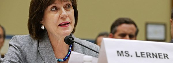 IRS official who took the fifth before Congress replaced