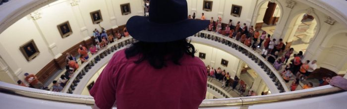Texas anti-abortion bill shouted down