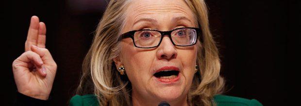 Hillary Clinton's delecate balancing act