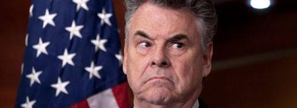 Peter King for President?  Apparently, he thinks so