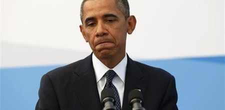 Sharp slide in support for Obama's plans to attack Syria