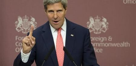 An offhand remark by Kerry put a Syria deal into play