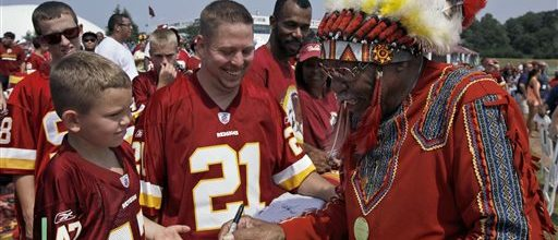 Obama would consider changing name of Washington Redskins
