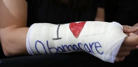 Poll says Obamacare accomplishing goal