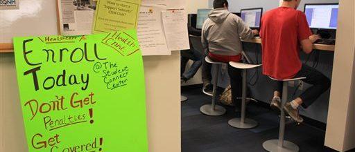 Enrollment blizzard at Obamacare deadline