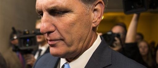 McCarthy bows out of House Speaker race
