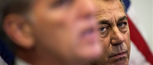 Boehner's sticking around…for the moment