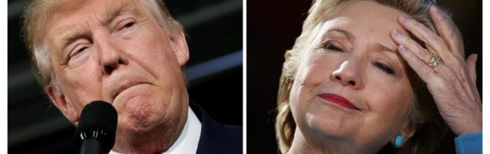 Poll shows Clinton edging back up