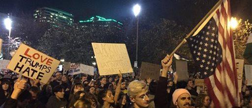 Trump protests surge across America