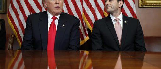 The odd trio: Trump, Ryan & McConnell