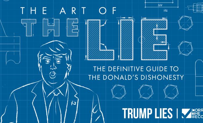 Trump: Liar, liar; nation on fire