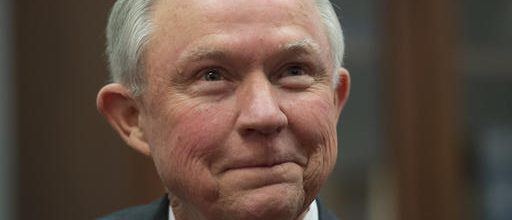 First up for confirmation: Jeff Sessions