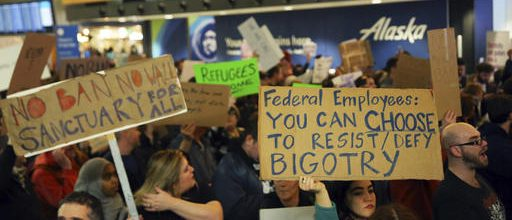 Chaos, outrage at airports nationwide