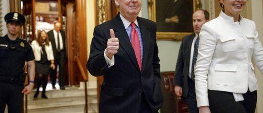 GOP nukes the Senate filibuster
