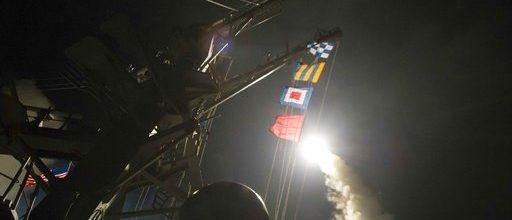 Trump sends cruise missiles into Syria