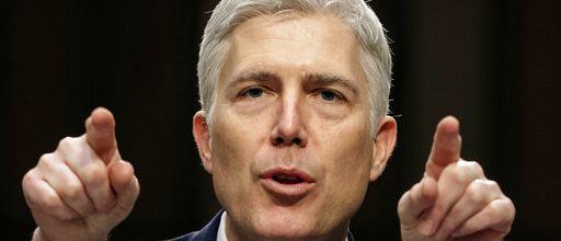 Gorsuch: 'Rule of law is a blessing'