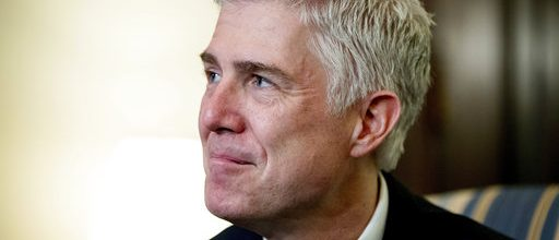 Gorsuch joins the Supremes