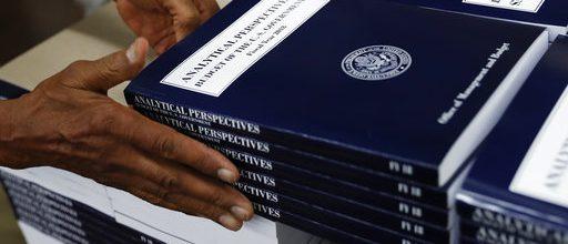 GOP saying 'nada' to Trump budget