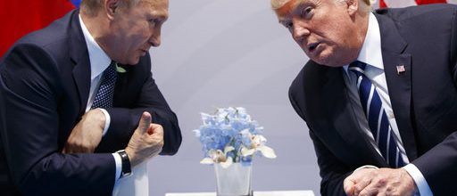 Trump, Putin confer on election hacking