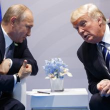 Trump met secretly with Putin