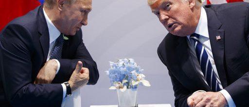 Trump met secretly with Putin
