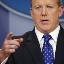 Sean Spicer resigns as Trump shake-up begins