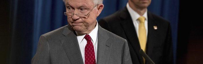 Sessions: 'You leak, we prosecute'