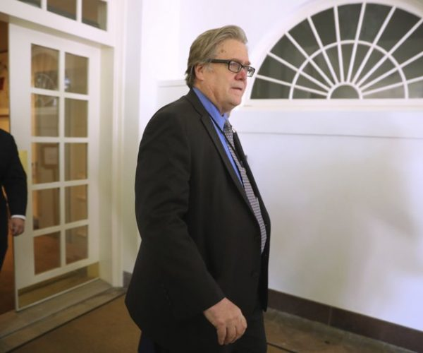 Bannon gone from Trump White House