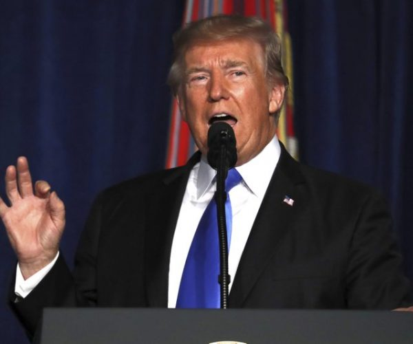 Trump promises 'win' in Afghanistan