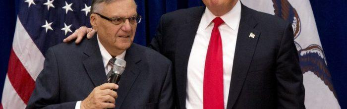 Trump pardons Joe Arpaio
