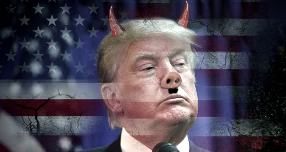 The evil that is Donald Trump