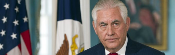 Tillerson: 'I'm not quitting'