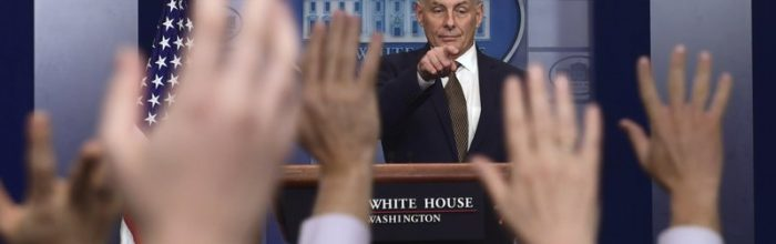 Kelly: 'Chaos?  What chaos?'
