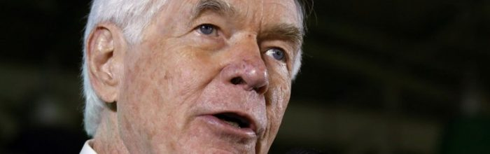 Senate's aging members: Mostly Republican